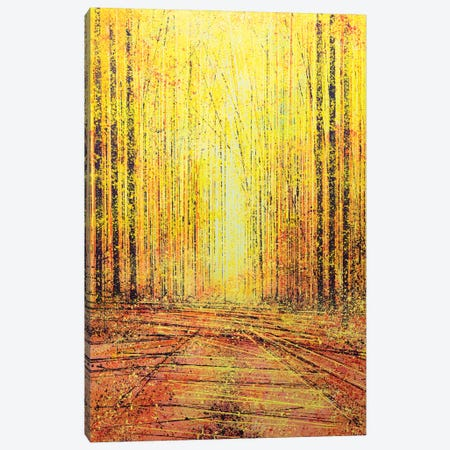 Vivid Yellow Light Canvas Print #MRC19} by Marc Todd Canvas Wall Art