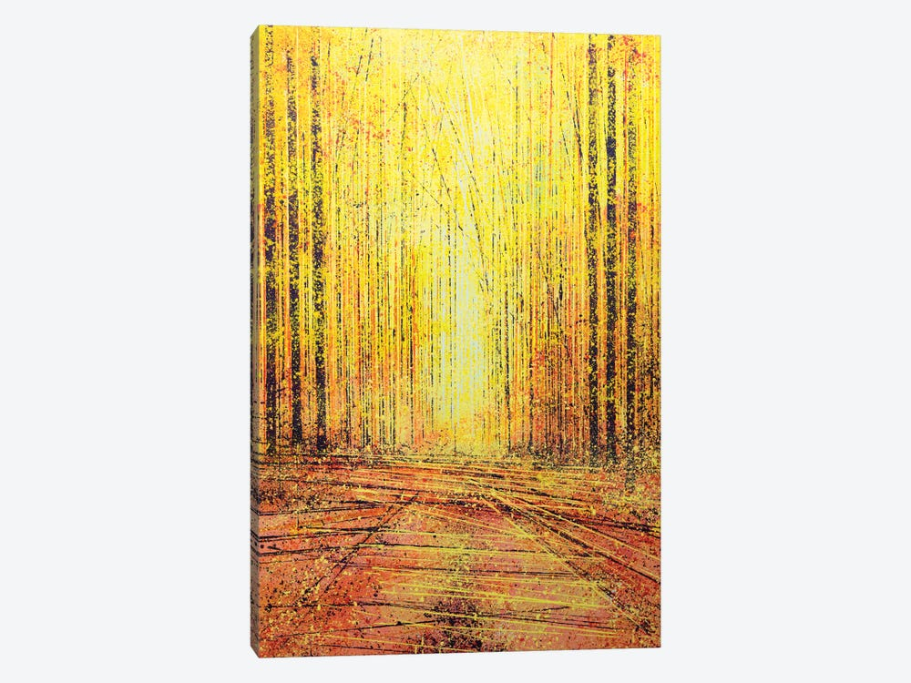 Vivid Yellow Light by Marc Todd 1-piece Canvas Art Print
