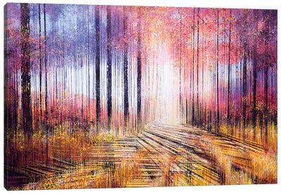 A Vintage Autumn Canvas Art Print