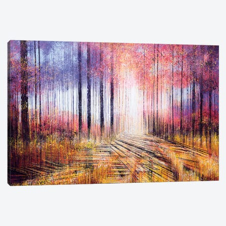 A Vintage Autumn Canvas Print #MRC1} by Marc Todd Canvas Art Print