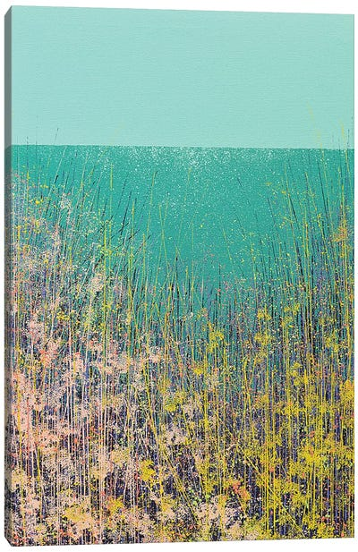 Wild Flower Meadow Canvas Art Print