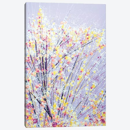 Blossom Under A Lilac Sky 3-Piece Canvas #MRC2} by Marc Todd Canvas Print
