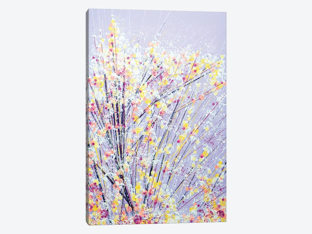 Blossom Under A Lilac Sky by Marc Todd 1-piece Canvas Print