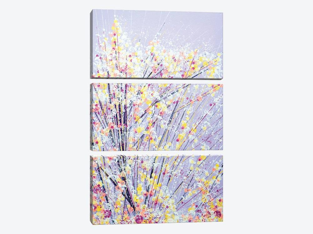 Blossom Under A Lilac Sky by Marc Todd 3-piece Art Print