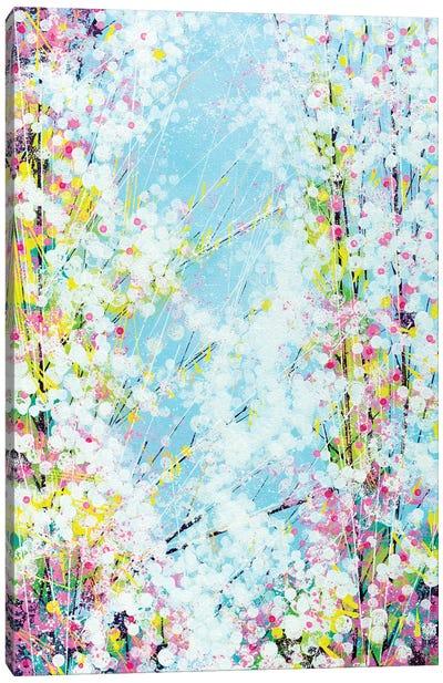 Blossom With A Soft Blue Sky Canvas Art Print