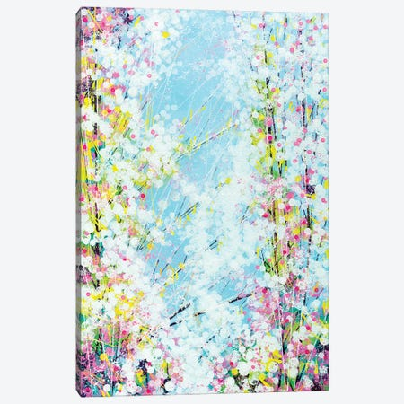 Blossom With A Soft Blue Sky 3-Piece Canvas #MRC3} by Marc Todd Canvas Art Print