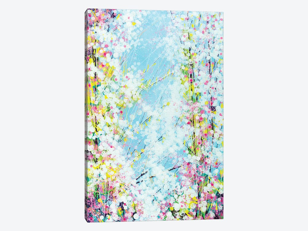 Blossom With A Soft Blue Sky by Marc Todd 1-piece Canvas Wall Art
