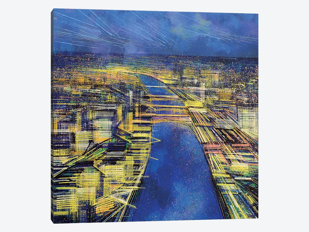 City Of Lights 1-piece Canvas Print