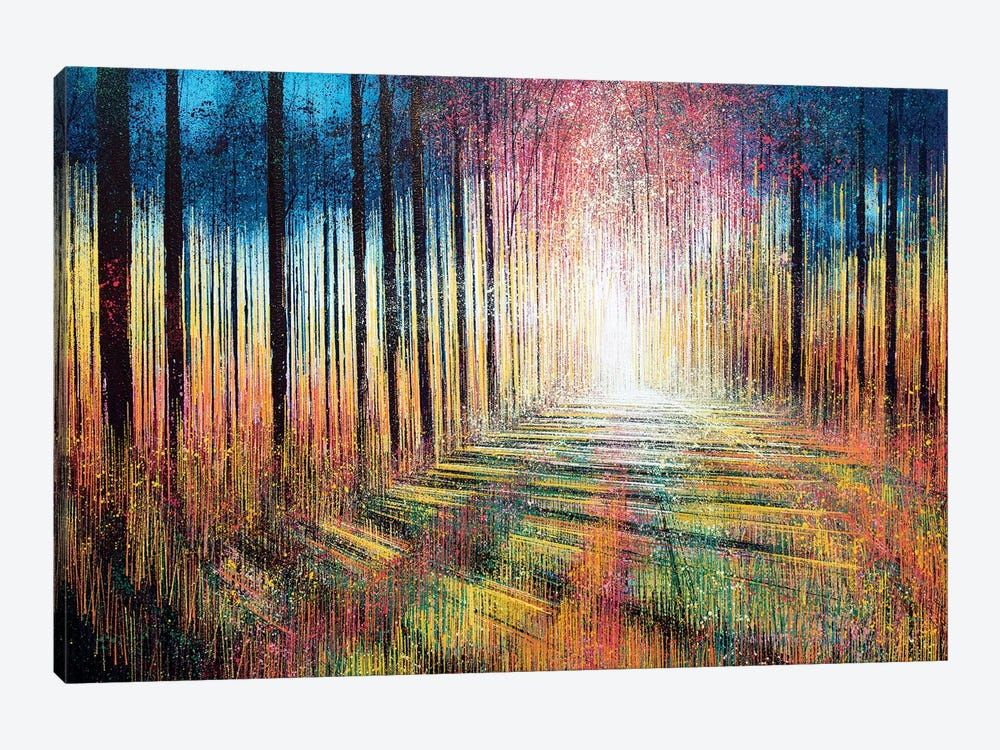 Morning Light Through Trees by Marc Todd 1-piece Canvas Print