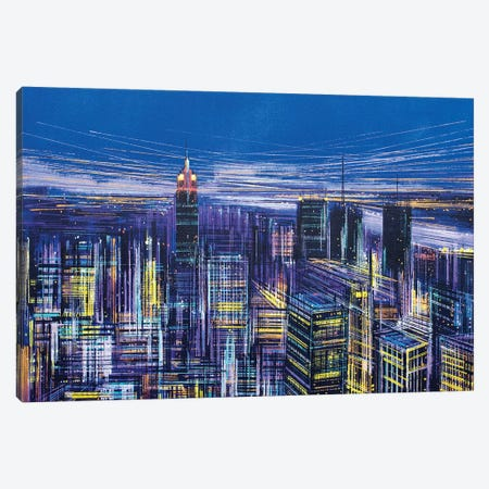 New York, New York! Canvas Print #MRC9} by Marc Todd Canvas Print