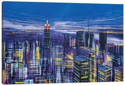New York, New York! Canvas Art Print