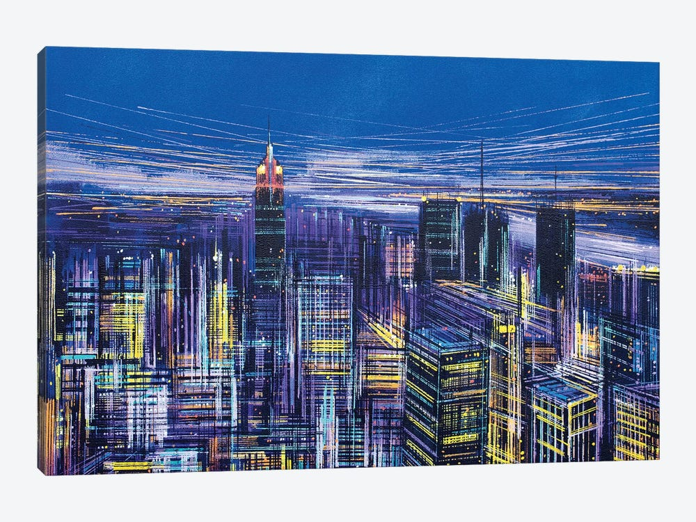New York, New York! by Marc Todd 1-piece Canvas Wall Art