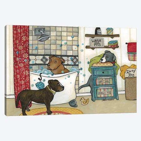 Wash Your Pits 3-Piece Canvas #MRH110} by Jamie Morath Canvas Artwork