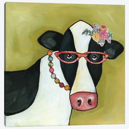 Cow Betty Canvas Print #MRH134} by Jamie Morath Canvas Print