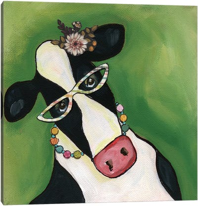 Cow Erma Canvas Art Print