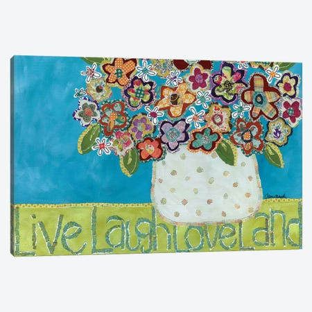 Live Laugh Loveland Canvas Print #MRH149} by Jamie Morath Canvas Print