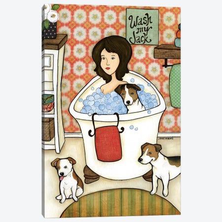 Wash My Jack 3-Piece Canvas #MRH175} by Jamie Morath Art Print