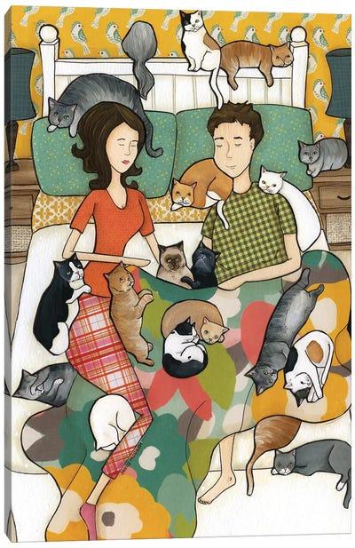 Cat Nap Canvas Art Print