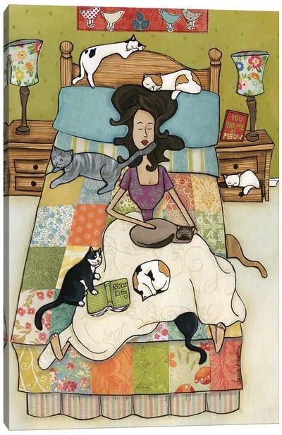Rescue Kitties Canvas Art Print