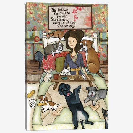 She Believed Canvas Print #MRH194} by Jamie Morath Canvas Print