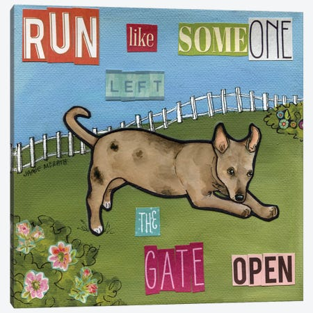 Run Like Canvas Print #MRH238} by Jamie Morath Canvas Art Print