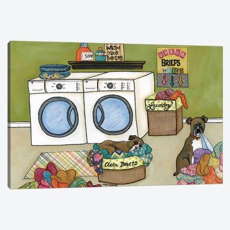 Clean Boxers Canvas Print #MRH23} by Jamie Morath Canvas Art