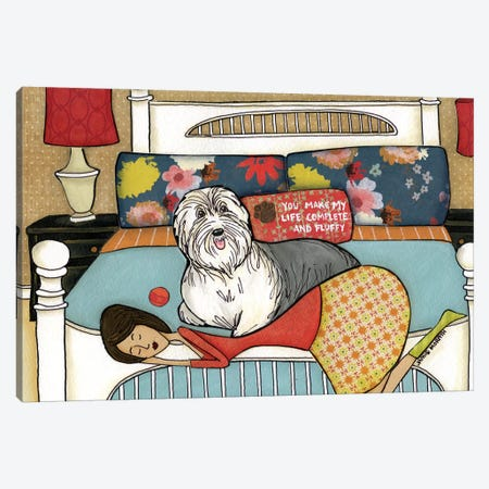 Complete And Fluffy Canvas Print #MRH25} by Jamie Morath Canvas Print