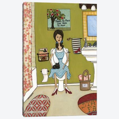 Dorothy's Bathroom Of Oz Canvas Print #MRH280} by Jamie Morath Canvas Art
