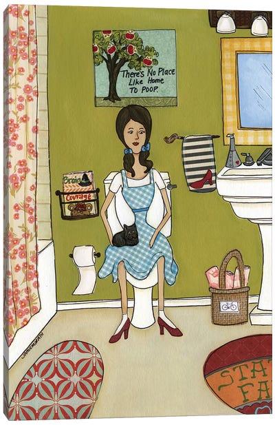 Dorothy's Bathroom Of Oz Canvas Art Print