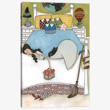 Dorothy's Room of Oz Canvas Print #MRH33} by Jamie Morath Canvas Art Print