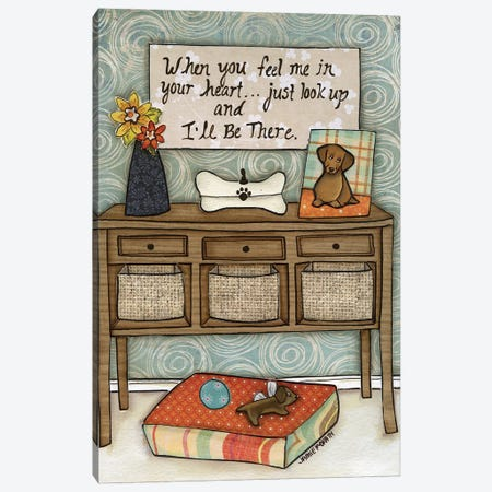 I'll Be There Canvas Print #MRH367} by Jamie Morath Canvas Artwork