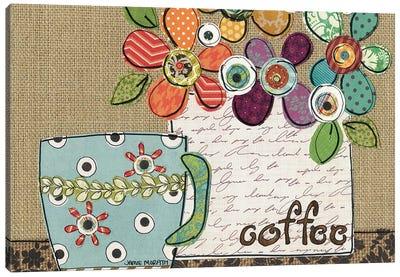 Coffee Shower Canvas Art Print