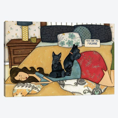 Furshine Canvas Print #MRH40} by Jamie Morath Canvas Artwork