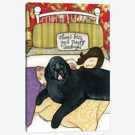 Newfy Goodnight Canvas Print #MRH421} by Jamie Morath Canvas Wall Art