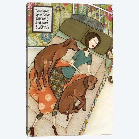 Just Keep Sleeping Canvas Print #MRH441} by Jamie Morath Canvas Artwork