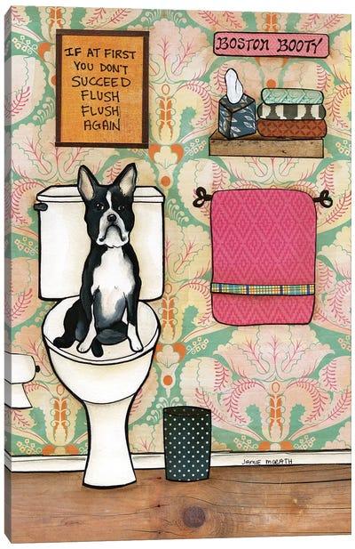 Flush Again Canvas Art Print