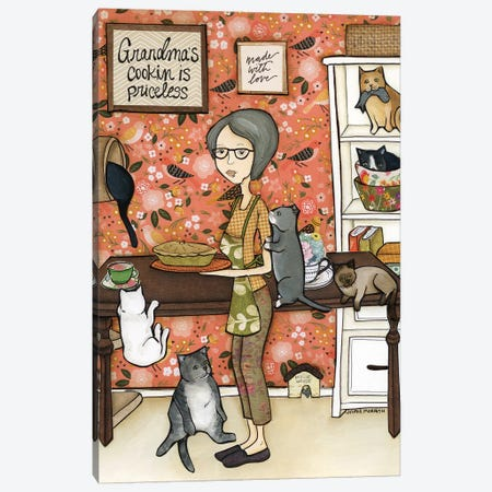 Grandma'S Cooking Canvas Print #MRH461} by Jamie Morath Canvas Wall Art