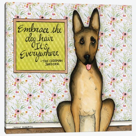 Embrace Canvas Print #MRH463} by Jamie Morath Canvas Artwork