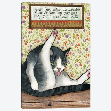 Adorable Canvas Print #MRH483} by Jamie Morath Canvas Wall Art