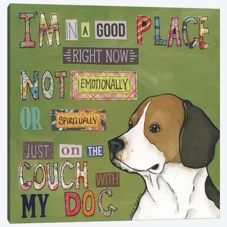 Good Place Canvas Print #MRH497} by Jamie Morath Canvas Art