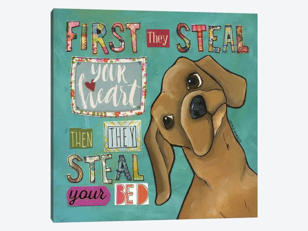 Steal Your Bed by Jamie Morath 1-piece Canvas Artwork