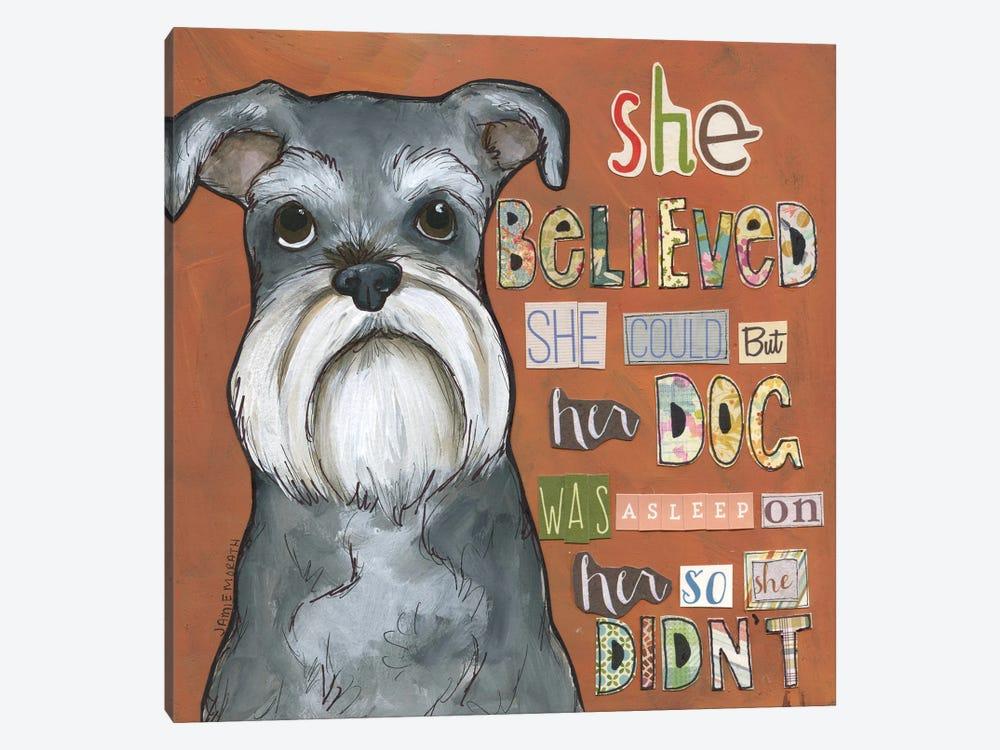 So She Didn't by Jamie Morath 1-piece Art Print