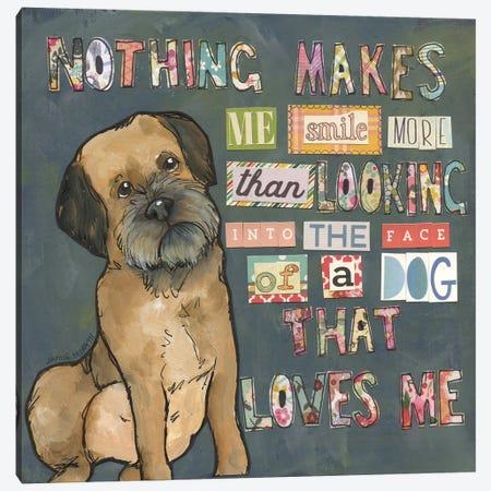 That Loves Me Canvas Print #MRH508} by Jamie Morath Canvas Print