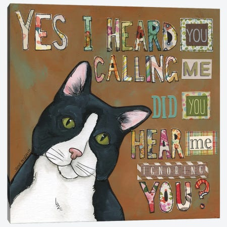 I Hear You Canvas Print #MRH511} by Jamie Morath Canvas Artwork