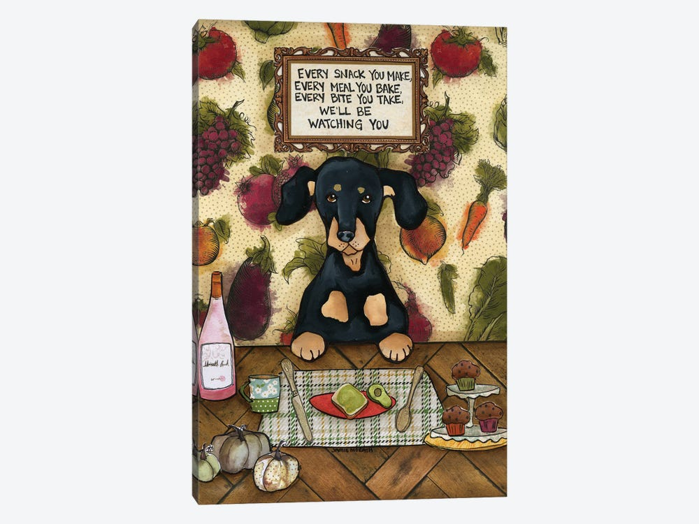 We'll Be Watching by Jamie Morath 1-piece Canvas Art