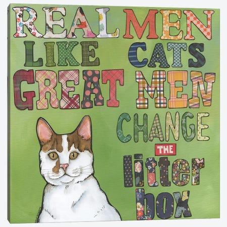 Great Men Canvas Print #MRH526} by Jamie Morath Canvas Art