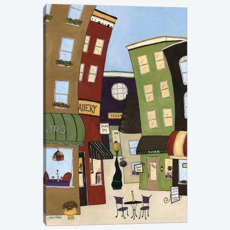 Around Town Canvas Print #MRH535} by Jamie Morath Canvas Art Print