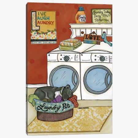 Laundry Pit Canvas Print #MRH57} by Jamie Morath Canvas Artwork