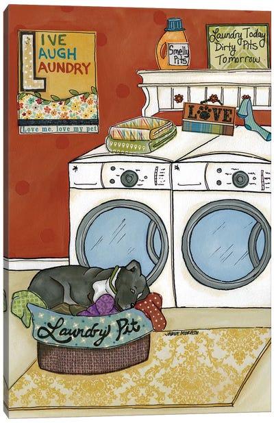 Laundry Pit Canvas Art Print