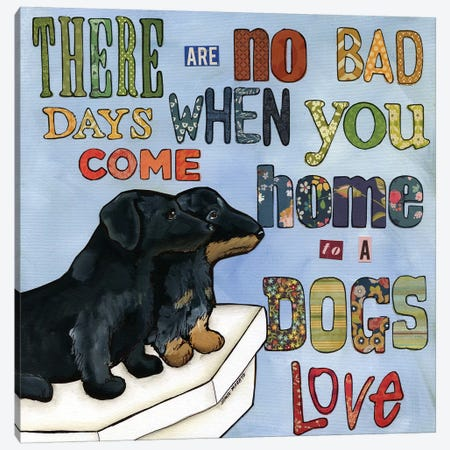 No Bad Days 3-Piece Canvas #MRH67} by Jamie Morath Canvas Art Print